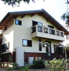 板倉構法で日本家屋の懐かしさが残る家